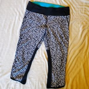 Lululemon Pace Pusher Crop, sz 12